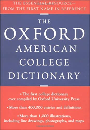 Amazon com: Oxford American College Dictionary (9780399144158