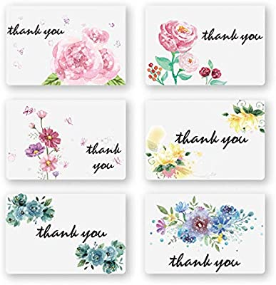 Thank You Cards, 100 Pack