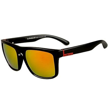 JAGENIE - Gafas de Sol cuadradas para Hombre, para conducción al Aire Libre, Deportes, Pesca, etc. C4