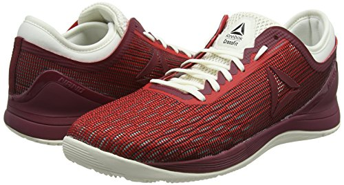 De primal Femme Maroon urban Chaussures Nano Crossfit chalk black Red Fitness 0 8 Rouge Reebok wxXHfzqC