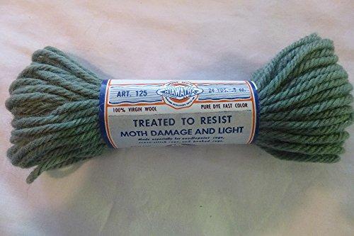 Wool Yarn Avocado - Avocado Green Hiawatha 4 Ply 100% Virgin Wool Rug Yarn