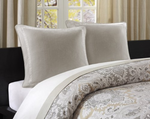 Echo Odyssey Sham, Euro, Stone (Echo Bedding Pillows)