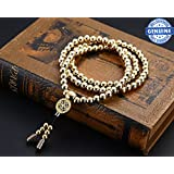 Phoenix Outdoor Self Defense 108 Buddha Beads Necklace Chain