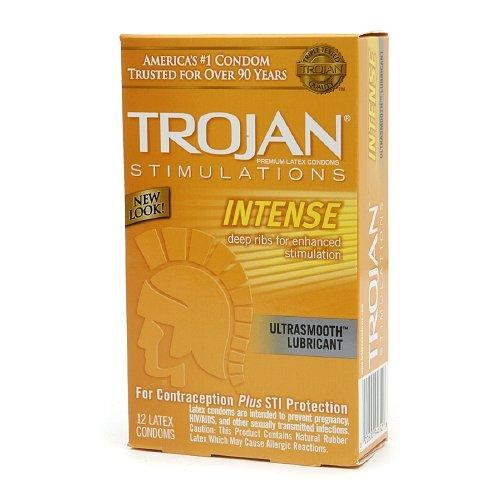 Les stimulations de Troie Intense Pack de 12 (paquet de 5)