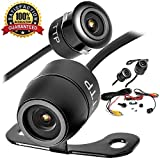 #2: Upgraded Mini Backup Camera 170° Viewing Angle Multi-Function Car Reversing Rear View/Side View/Front View & Security Pinhole Spy Camera (TTP-C12B)