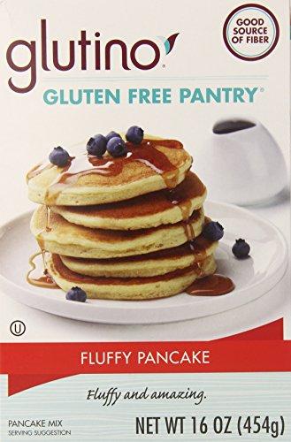 Glutino Gluten Free Flour (Glutino Gluten Free Pantry Fluffy Pancake Mix, 16 Ounce)