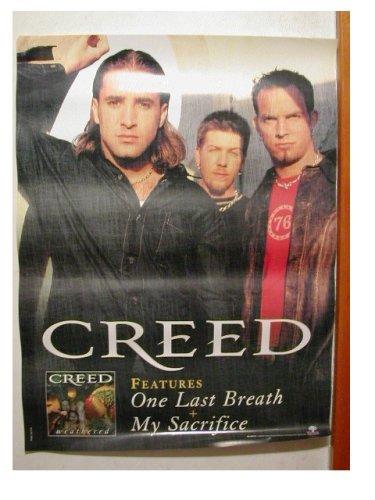 creed poster band