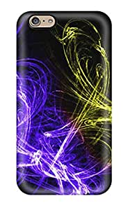 Iphone 6 Case Cover - Slim Fit Tpu Protector Shock Absorbent Case (abstract Photoshop Images)