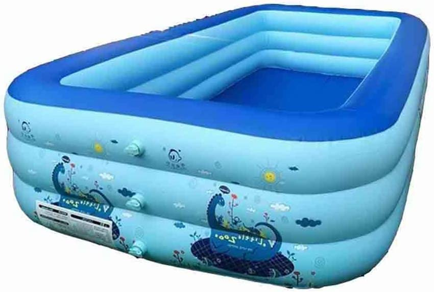 DALL Piscinas hinchables Piscina Inflable Hogar Rectangular ...