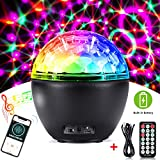 Bluetooth Disco Light,CrazyFire Party Light with Remote Control,16 Light Modes Strobe Lights for Parties,Holidays,Weeding and Kids' Room(Built in Battery)