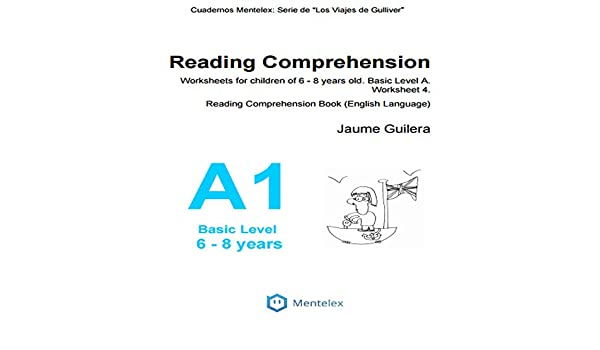 Reading Comprehension Worksheets for children of 6 - 8 years