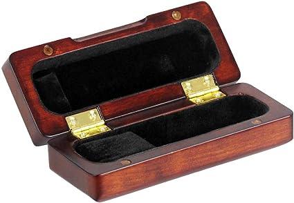 Estuche De Madera Con Almacenamiento De Madera Para Saxofón Y Instrumento De Viento De Viento - Carmín: Amazon.es: Instrumentos musicales