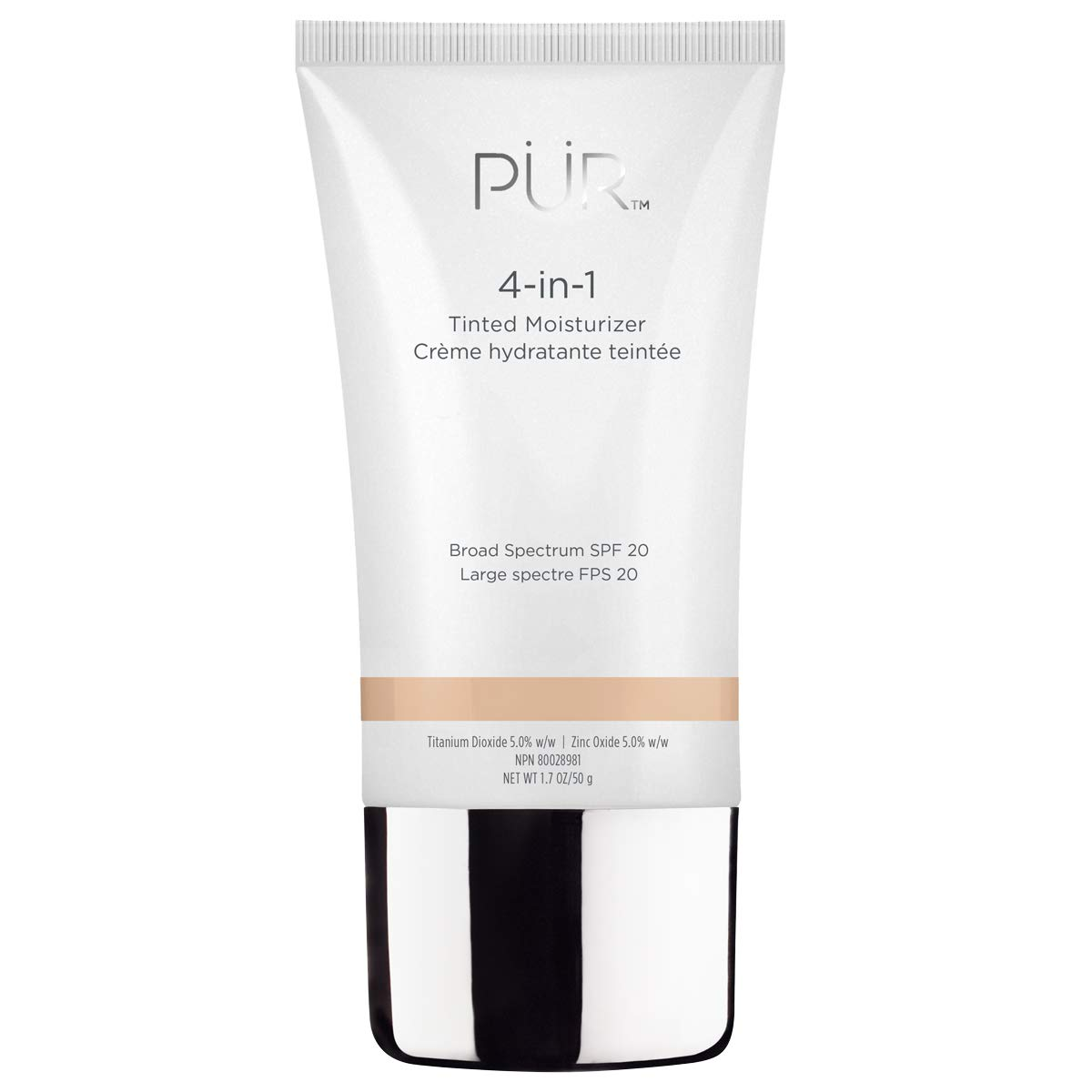 PUR Cosmetics 4-in-1 Tinted Moisturizer in Fairy Ivory, 1.7 oz