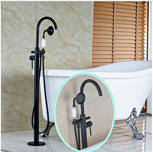 Gowe High-end Best Quality Single Handle W/Ceramic Handshower Oil Rubbed Bronze Shower Faucet (Handshower Single Handle)