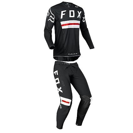 Fox Racing 2018 FlexAir preest edición limitada negro/rojo ...