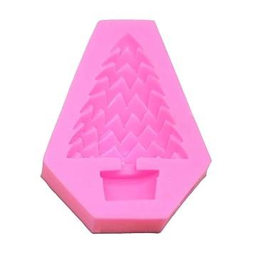 Kitchen Ware Llc - Molde de silicona para repostería, diseño de árboles de Navidad en
