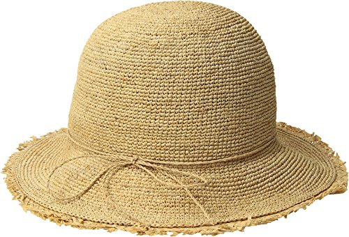 Hat Attack Women's Rachel Fringed Natural One Size by Hat Attack