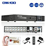 OWSOO 16CH H.264 Full 1080N(9601080) P2P Network DVR CCTV Security Phone Control Motion Detection Email Alarm for Surveillance Camera