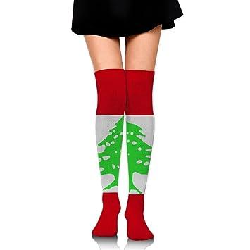 Líbano bandera algodón calcetines de compresión para mujeres. Graduado medias para Enfermeras, maternidad,