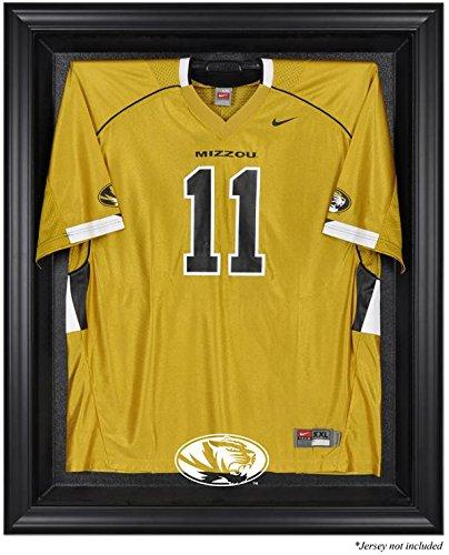 Mounted Memories Missouri Tigers Black Framed Logo Jersey Display Case