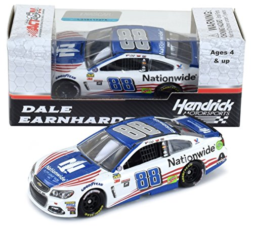 Lionel Racing Dale Earnhardt Jr 2017 Nationwide Patriotic Stars and Stripes NASCAR Diecast 1:64 Scale
