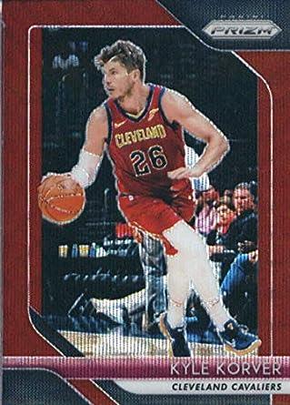 7df2876c0df3 2018-19 Panini Prizm Prizms Ruby Wave  200 Kyle Korver Cleveland Cavaliers  Basketball Card