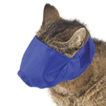 Guardian Gear Nylon Fashion Cat Fashion Muzzle, Medium, 6-12-Pound, Blue