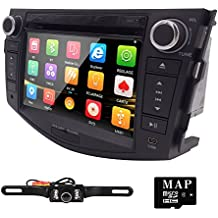 "7"" 3G BT iPod GPS Car DVD Player Radio For Toyota RAV4 2006 2007 2008 2009 2010 2011 2012+Camera"