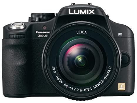 Panasonic Lumix DMC-L10K - Cámara Réflex Digital 10.1 MP (Objetivo ...