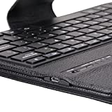 NEWSTYLE Wireless Bluetooth Keyboard Cover for Galaxy NotePRO & TabPRO 12.2 inch, Black (PT500)