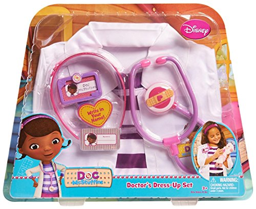 Disney Doc Doc McStuffins Dress Up Set - Doc Mcstuffin Dress Up Set
