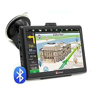 """Navegador GPS para Coche 7"""" Pantalla Táctil con Bluetooth AVIN FM 8GB Actualización Gratis de Mapa de Europa Toda la Vida - Junsun"""