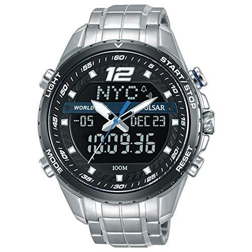 (Pulsar Chronograph PZ4027X1 Mens Chronograph Classic & Simple)