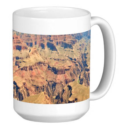 Grand Canyon 15 Ounce Ceramic Coffee Mug Tea Cup ()