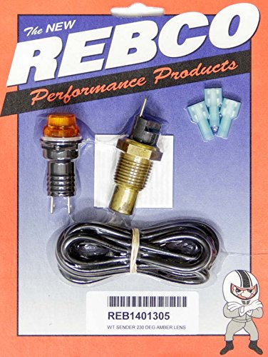Rebco 140-1305 Water Temperature Warning Lite System