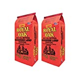 Royal Oak BBQ All Natural Premium 8 Pound Bag Lump Charcoal Starter (2 Pack)