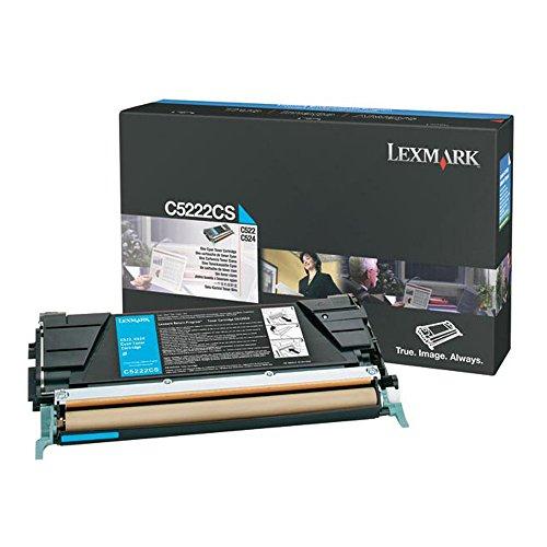 (Lexmark C5222CS Cyan OEM Toner Standard Yield (3,000 Yield))
