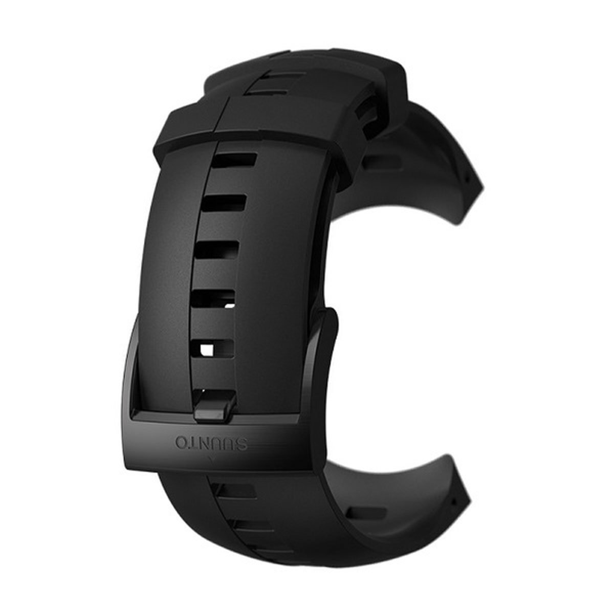 SUUNTO Spartan Sport Wrist HR GPS Watch - Replacement Strap - Black Silicone - SS022931000 (Black Silicone)