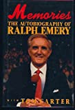 img - for Memories the Autobiography of Ralph Emery book / textbook / text book