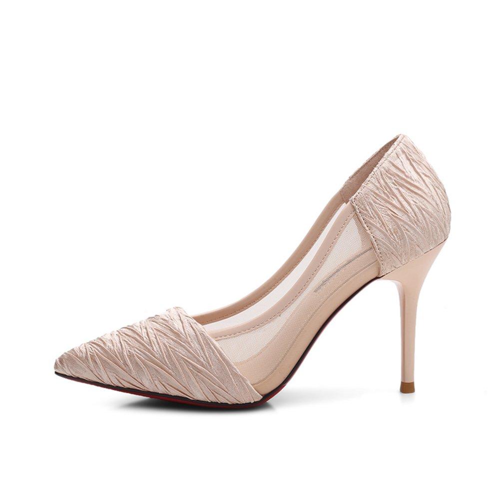 Bbdsj Frauen High Heels Sexy Fashion Heels 9cm Spitzen Fersen.personality Heels High Heels Profi damen Schuhe.Rosa High Heels