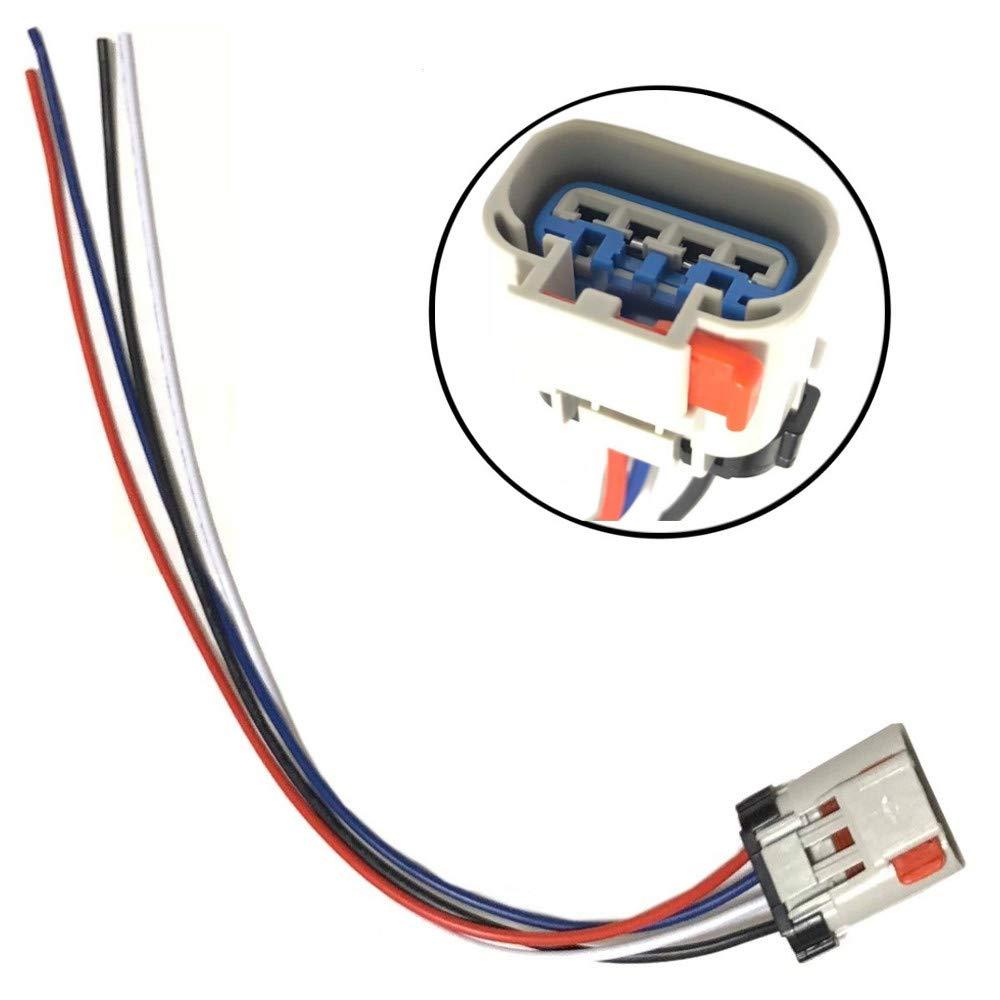 amazon com: fuel pump connector wiring harness pigtail fits chrysler dodge  pontiac pt1402: automotive