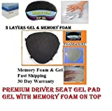 Motorcycle Gel Pad Driver Seat cushion For Harley Davidson FXDWG Dyna Wide Glide