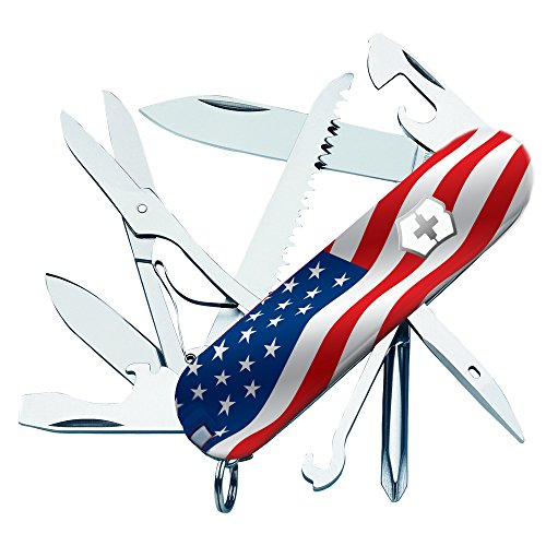 (US Flag Fieldmaster Swiss Army Knife by Victorinox)