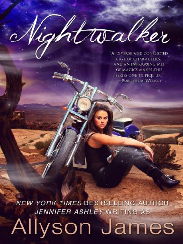 Nightwalker (Stormwalker Book 4) by [James, Allyson, Ashley, Jennifer]