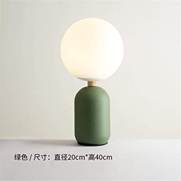 Amazon.com: L06 Ceiling Light Green Led Bedroom Bedside ...