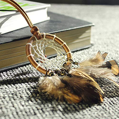 MoGist Indian Handmade Dreamcatcher Pendant Car Ornament Feather Ornament by MoGist (Image #7)