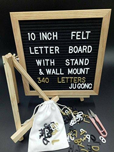 Letter Board - Black 10