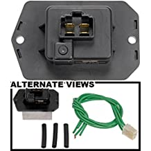 APDTY 084563 Blower Motor Resistor w/ Wiring Harness Pigtail Connector Fits Select Honda Acura Models (See Description; Replaces 79330-S5A-942, 79330-SDA-A01, 79330-SNA-A01)