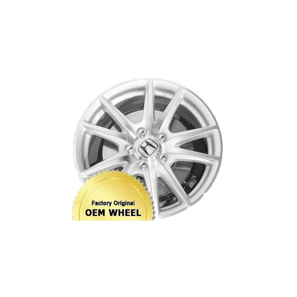Honda S2000 17X7 5 114.3 55Mm Offset 10 Spoke Front Factory Oem Wheel Rim   Machined Face Silver Finish   Remanufactured Automotive