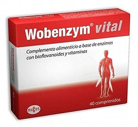 Wobenzym Vital 40 comprimidos de Diafarm Roha: Amazon.es ...
